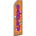 Bakery Orange Swooper Flag