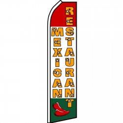 Mexican Restaurant Chiles Swooper Flag
