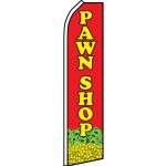 Pawn Shop Red Swooper Flag