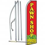 Pawn Shop R/Y Swooper Flag Bundle