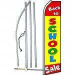 Back To School Sale Swooper Flag Bundle