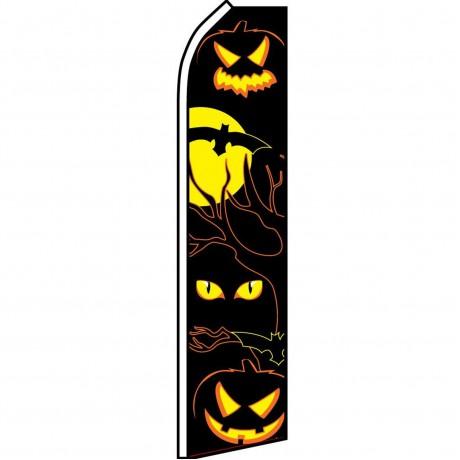 Halloween Eyes Swooper Flag