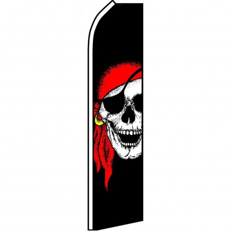 Pirate Jolly Roger Swooper Flag