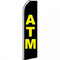 ATM Black Swooper Flag