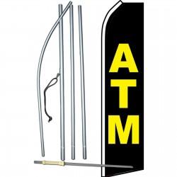 ATM Black Swooper Flag Bundle
