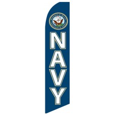 Military Navy Swooper Flag