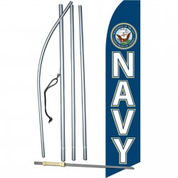 Military Navy Swooper Flag Bundle
