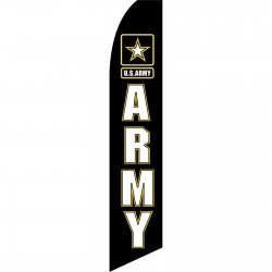 Army Military Swooper Flag
