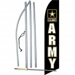 Army Military Swooper Flag Bundle
