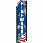 Fireworks USA Swooper Flag
