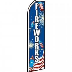Fireworks USA Swooper Flag