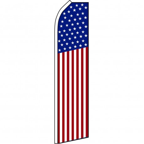 USA 50 Star Swooper Flag