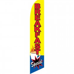 Breakfast Special Yellow Swooper Flag
