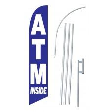 ATM Inside Windless Swooper Flag Bundle