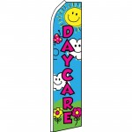Day Care Flowers Swooper Flag