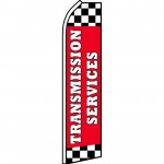 Transmission Services Red Swooper Flag