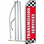 Transmission Services Red Swooper Flag Bundle