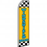 Windshield Repairs Yellow Swooper Flag