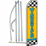 Windshield Repairs Yellow Swooper Flag Bundle