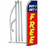 Buy 1 Get 1 Free Swooper Flag Bundle