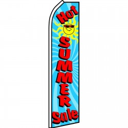 Hot Summer Sale Swooper Flag