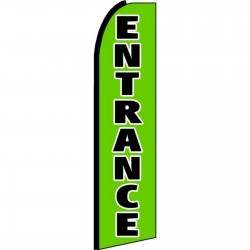 Entrance Extra Wide Swooper Flag