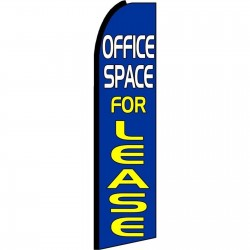 Office Space For Lease Extra Wide Swooper Flag
