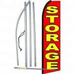 Storage Extra Wide Swooper Flag Bundle