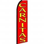 Carnitas(Fried Pork) Extra Wide Swooper Flag