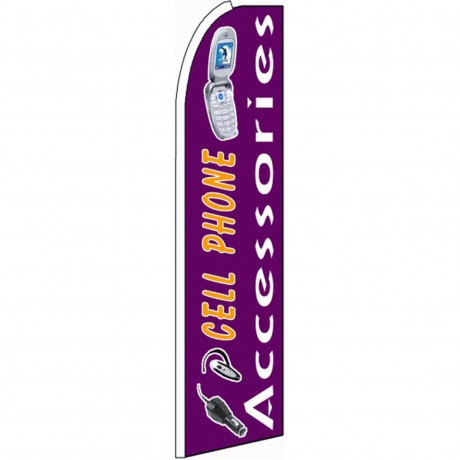 Cell Phone Accessories Extra Wide Swooper Flag