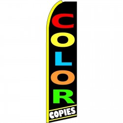 Color Copies Extra Wide Swooper Flag