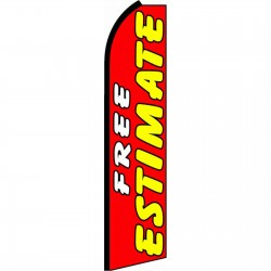 Free Estimate Extra Wide Swooper Flag