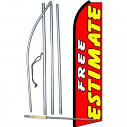 Free Estimate Extra Wide Swooper Flag Bundle
