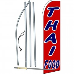Thai Food Extra Wide Swooper Flag Bundle