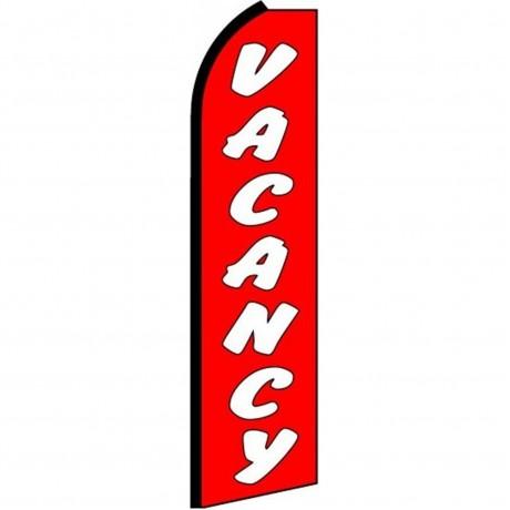 Vacancy Extra Wide Swooper Flag