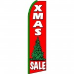 XMas Sale Extra Wide Swooper Flag