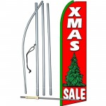 XMas Sale Extra Wide Swooper Flag Bundle