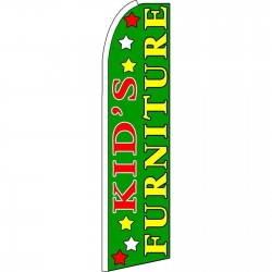Kid's Furniture Extra Wide Swooper Flag