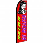 Salon De Belleza Extra Wide Swooper Flag