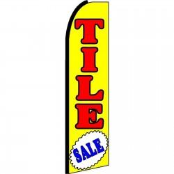 Tile Sale Extra Wide Swooper Flag