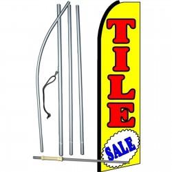 Tile Sale Extra Wide Swooper Flag Bundle