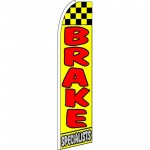 Brake Specialists Extra Wide Swooper Flag