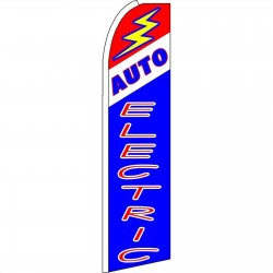 Auto Electric Extra Wide Swooper Flag