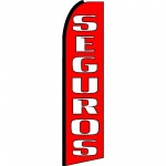 Seguros Extra Wide Swooper Flag