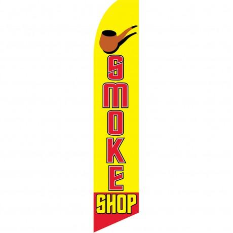 Smoke Shop Extra Wide Swooper Flag