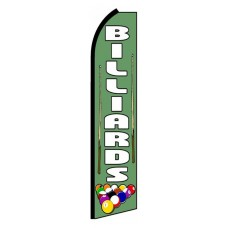 Billiards Extra Wide Swooper Flag