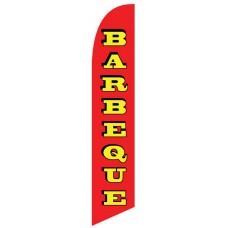Barbeque Windless Swooper Flag