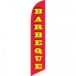 Barbeque Red Windless Swooper Flag