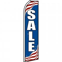 Sale Patriotic Swooper Flag