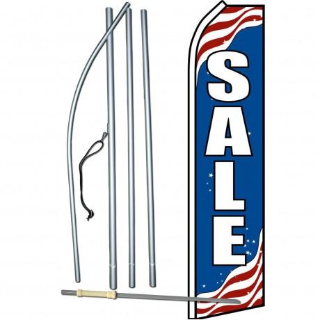 Sale Patriotic Swooper Flag Bundle